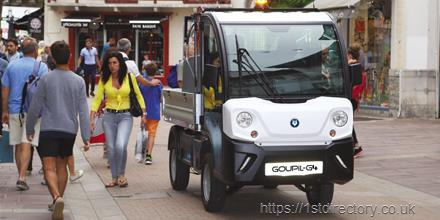 Electric Road Vehicles - Bradshaw Electric Vehicles is the sole UK importer of Goupil G4 electric road vehicles image