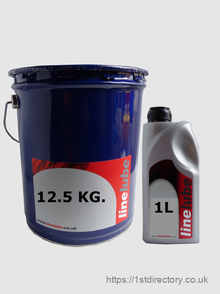 Industrial Oils & Commercial Lubricants - 12.5KG & 1L image