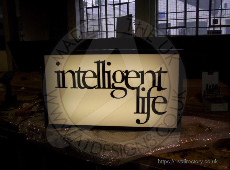 Light Box Sign image