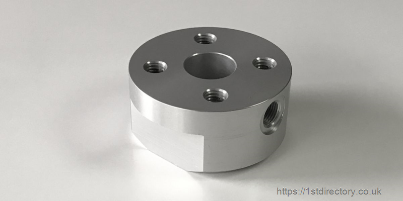 Piston End Support - Aluminium | Pneumatics image