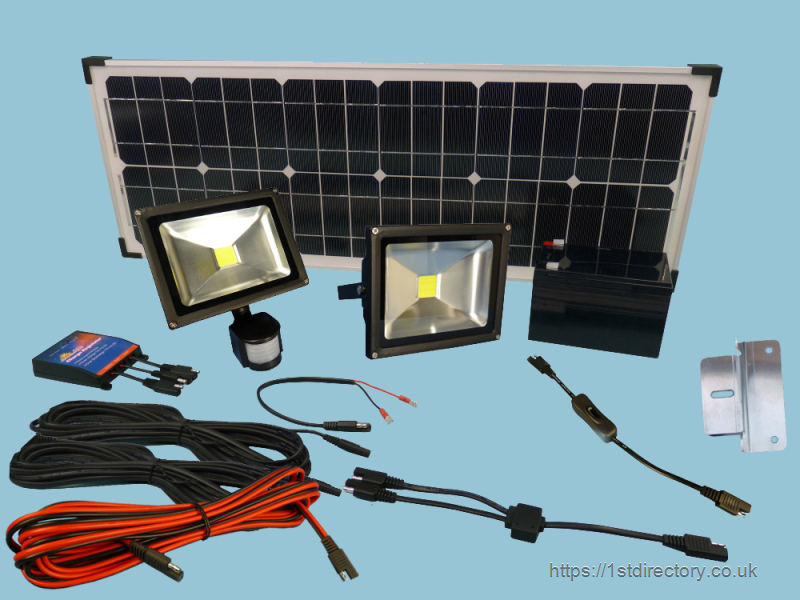 Solar Lighting Kits image