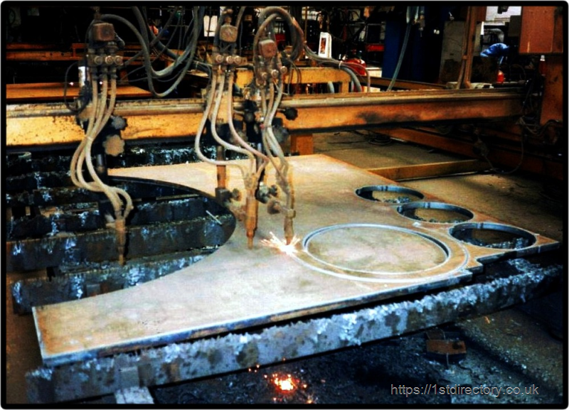 Steel Cutting image