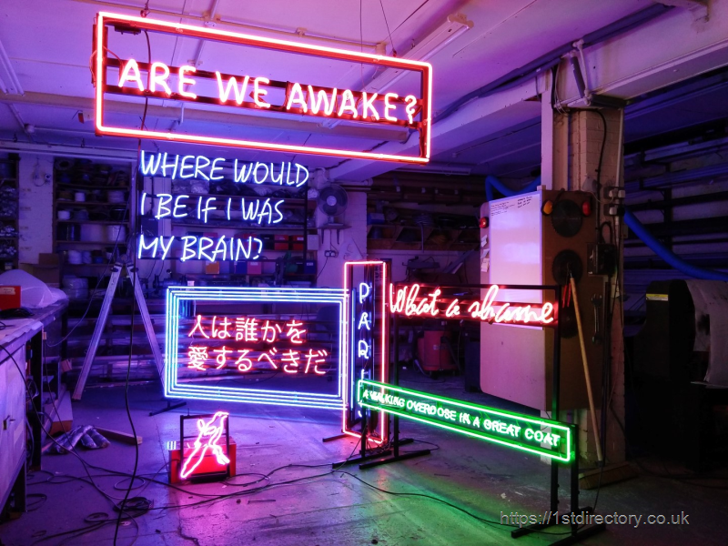 The 1975 Neon Signs image