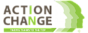 Action in Change logo