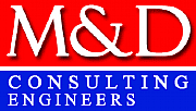M & D Consulting Engineers logo