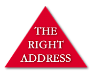 The Right Address logo