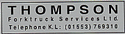 Thompson Forktruck Services Ltd logo