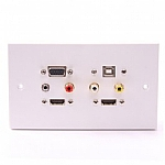 Audio Visual Projector Wall Plate image