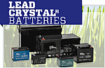 Lead Crystal<sup>®</sup>Batteries image