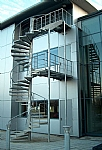 Spiral Fire Escape Staircases image