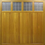Wooden Garage Doors image