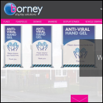 Screen shot of the Borney UK Ltd website.