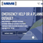 Screen shot of the MEMS Power Generation Ltd website.