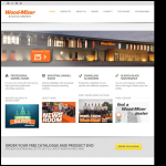 Screen shot of the Wood-Mizer UK Ltd website.