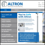 Screen shot of the Altron Communications Equipment Ltd website.