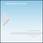 Screen shot of the Elan Systems (Coventry) Ltd website.