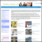 Screen shot of the Tradex Tools Ltd website.