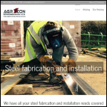 Screen shot of the Agricon Engineering Ltd website.