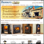 Screen shot of the R H Bunner & Son Ltd website.