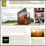 Screen shot of the Hubbard Animal Feed Supplements website.