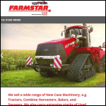 Screen shot of the Farmstar Ltd website.