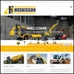 Screen shot of the Huskisson Ltd website.