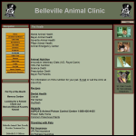 Screen shot of the Merial Animal Health & Nutrition website.