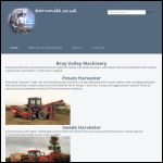 Screen shot of the Bray Valley Machinery website.