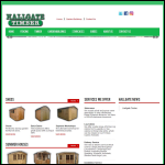 Screen shot of the Hallgate Timber website.