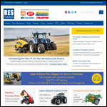 Screen shot of the Res Tractors Ltd website.