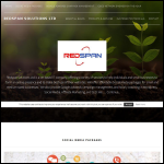 Screen shot of the Redspan Solutions Ltd website.