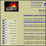 Screen shot of the Superior Systems Ltd website.