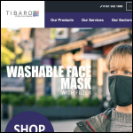 Screen shot of the Tibard Ltd website.