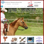 Screen shot of the Pullman Western Store UK website.