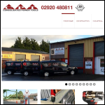 Screen shot of the Consolidated Power Tools Ltd website.