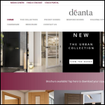 Screen shot of the Deanta UK Ltd website.