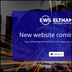 Screen shot of the Eltham Welding Supplies Ltd website.