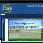 Screen shot of the Land Polymers Ltd website.