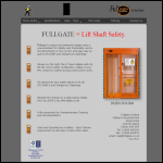 Screen shot of the Fullgate website.