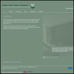 Screen shot of the Castle Post Form Products Ltd website.