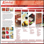 Screen shot of the Krehalon U K Ltd website.