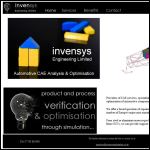 Screen shot of the Invensys Engineering Ltd website.
