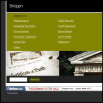 Screen shot of the Bridgen (Rail) Maintenance Ltd website.