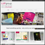 Screen shot of the L & P Reproduction Co Ltd website.