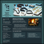 Screen shot of the Armstrongs Blacksmiths & Engineers website.