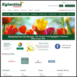 Screen shot of the Eglantine Timber Products Ltd website.