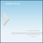 Screen shot of the Dossor Group website.