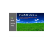 Screen shot of the Green Field Television website.