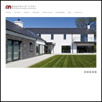 Screen shot of the Paul Mcalister Architects website.