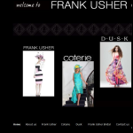 Screen shot of the Frank Usher Group website.
